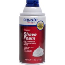 Equate Men's Regular Shave Foam, 11 Oz