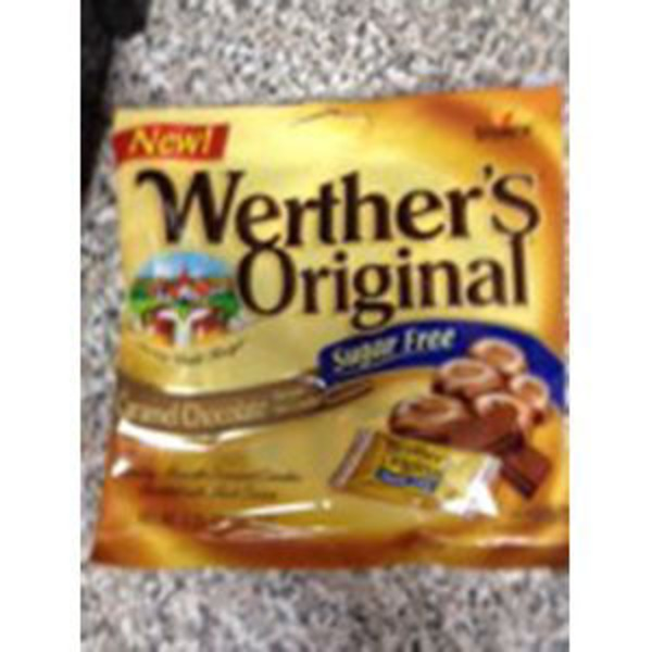 Werther's Original Sugar Free Caramel Chocolate Hard Candy