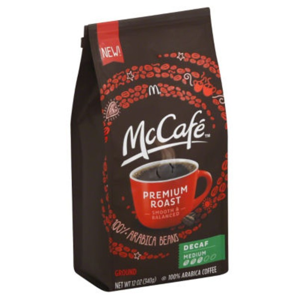 McCafe Premium Roast Decaf Ground Coffee