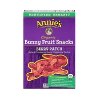 Annie's Homegrown Organic Bunny Fruit Snacks Berry Patch Fruit Snacks