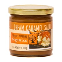 The King's Cupboard Organic Cream Caramel Sauce