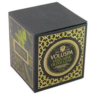 Voluspa Olive Leaf Natural Apricot & Coconut Wax Hand Poured Luxury Candle