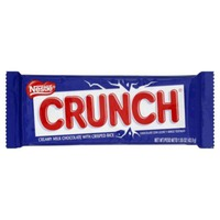 Nestle Crunch Creamy Milk Chocolate with Crisped Rice Chocolate Candy Bar