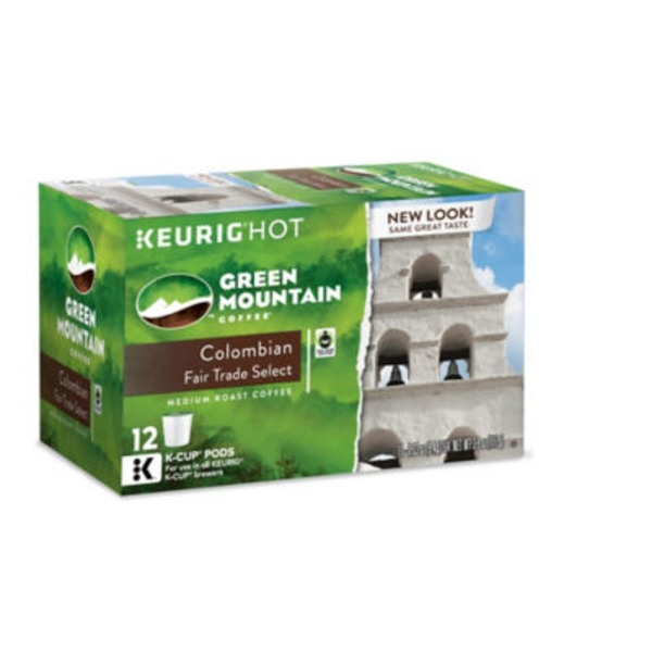Green Mountain Coffee Colombian Fair Trade Select K-Cup Packs Coffee
