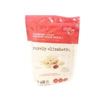 Purely Elizabeth Muesli, Ancient Grain, Cranberry Cashew