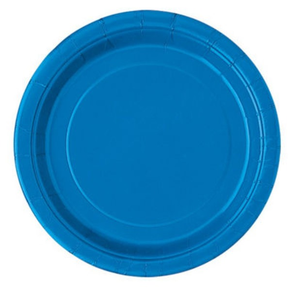 Unique Royal Blue Plates
