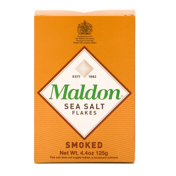 Maldon Sea Salt, Smoked, Flakes