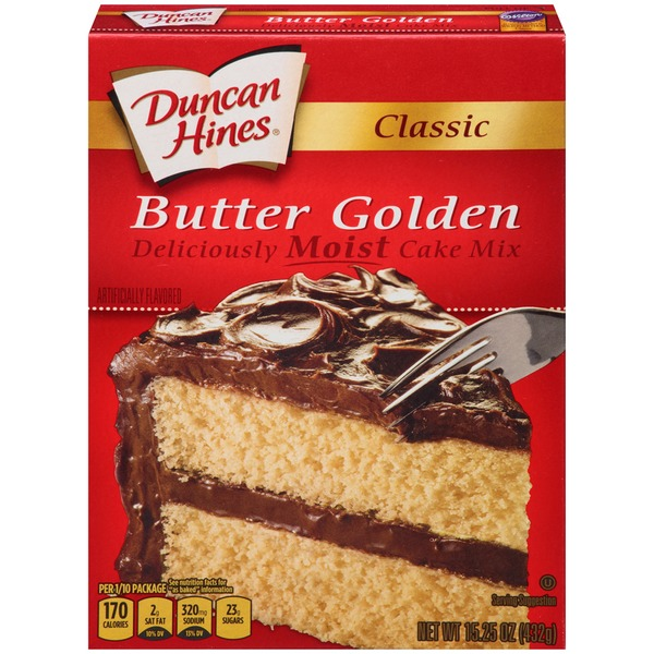 Duncan Hines Classic Butter Golden Cake Mix