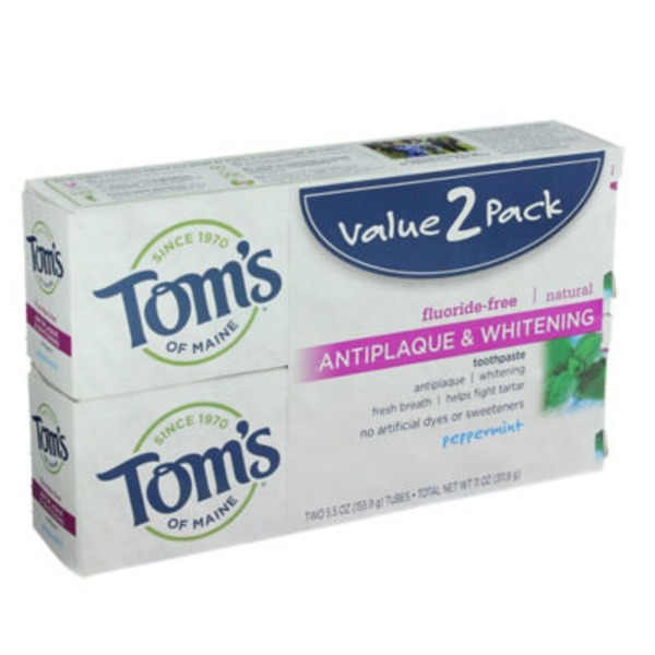 Tom's of Maine AntiPlaque White Toothpaste