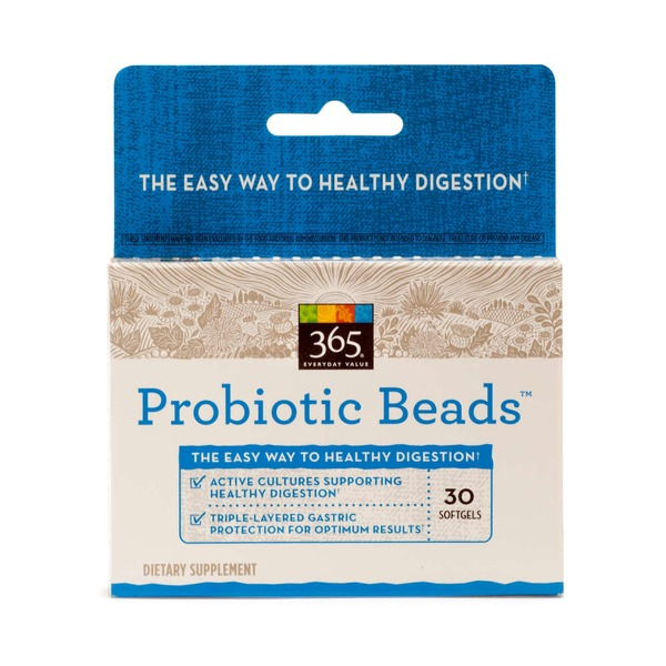 365 Probiotic Beads Softgels
