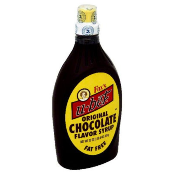 U-Bet Fox's U-Bet Original Chocolate Flavor Syrup Fat Free