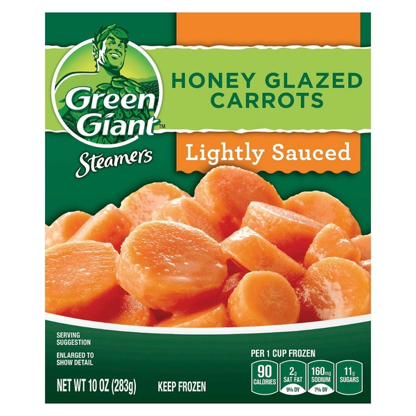 Green Giant Honey Glazed Carrots Steamers
