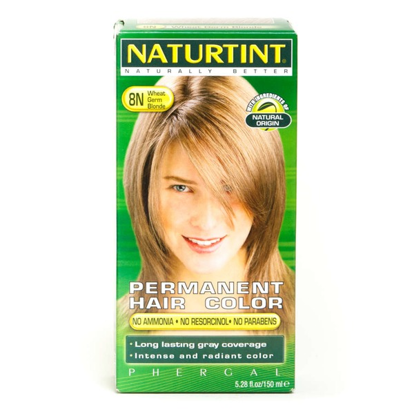 Naturtint Permanent Hair Color, Wheat Germ Blonde 8N