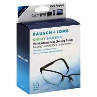 Bausch + Lomb Pre-Moistened Sight Savers Lens Cleaning Tissues