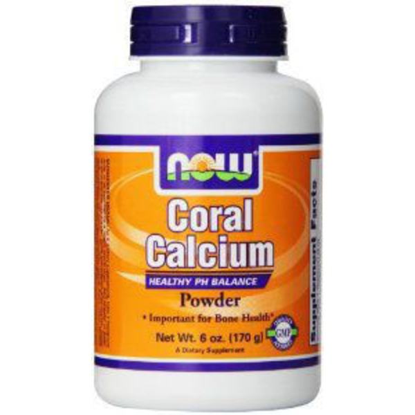 Now Coral Calcium Pure Powder