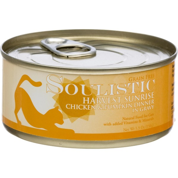 Soulistic Harvest Sunrise Chicken & Pumpkin Dinner In Gravy Cat Food