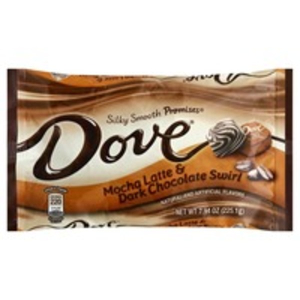 Dove Mocha Latte & Dark Chocolate Swirl, Silky Smooth
