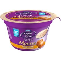 Dannon Light & Fit Greek Mousse Salted Caramel Nonfat Yogurt