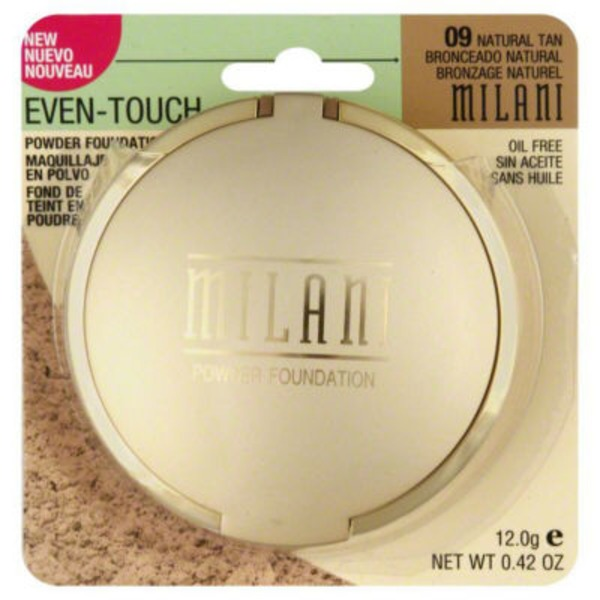 Milani Even-Touch Powder Foundation #09 Natural Tan