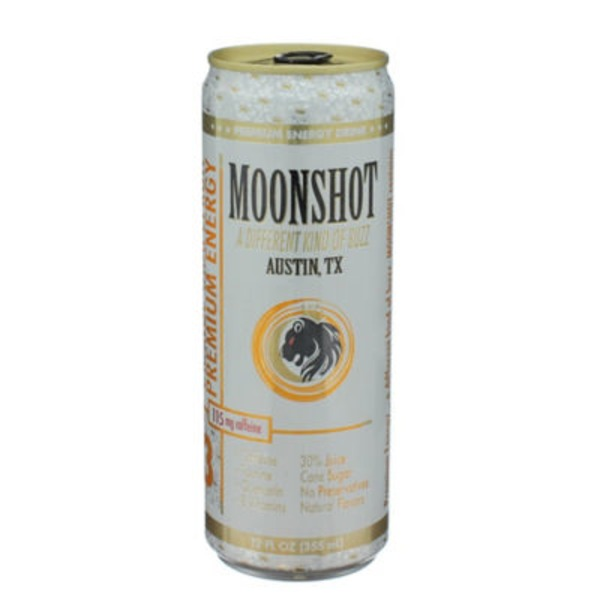 Moonshot Orange Grapefruit Premium Energy Drink