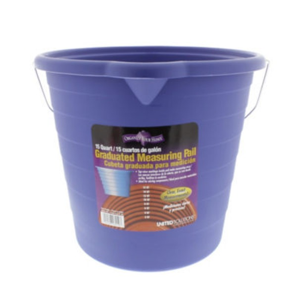 Organize Your Home Graduated Measuring Pail