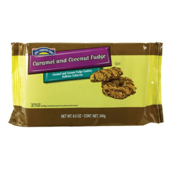 Hill Country Fare Caramel And Coconut Fudge Cookies