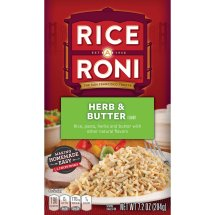 Rice-A-Roni Rice & Pasta Mix, Herb Butter, 7.2 Oz