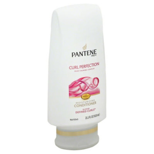 Pantene Moisture Renewal Pantene Pro-V Curl Perfection Conditioner for Curly Hair 17.7 fl oz Female Hair Care