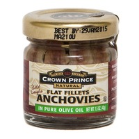 Crown Prince Natural Flat Fillets Anchovies In Pure Olive Oil