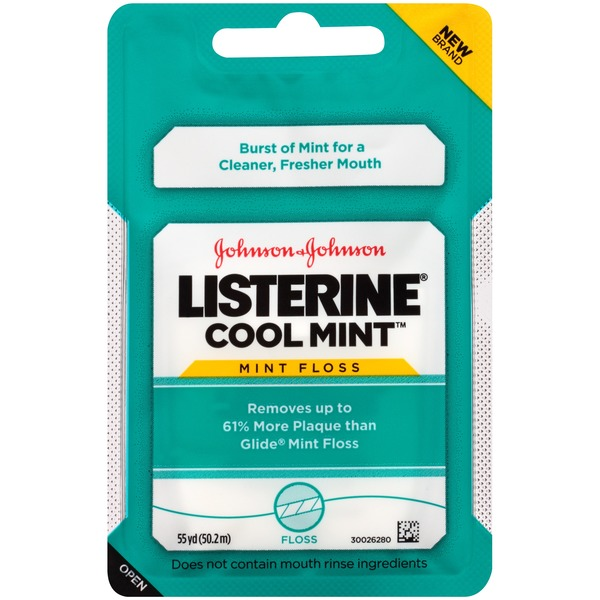 Listerine® Cool Mint Dental Floss