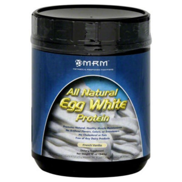 MRM Egg White Protein, French Vanilla