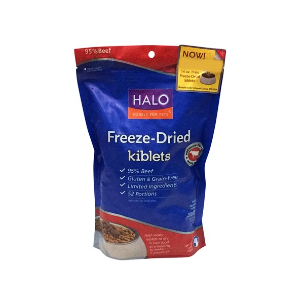 Hal Dog Frozen Dried Beef