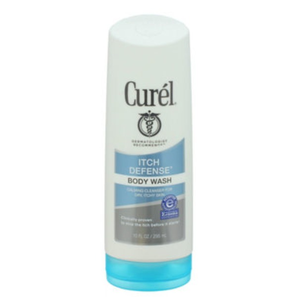 Curel Itch Defense Body Wash Calming Cleanser