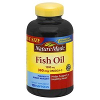 Nature Made Fish Oil, 1200 mg, Softgels, Value Size