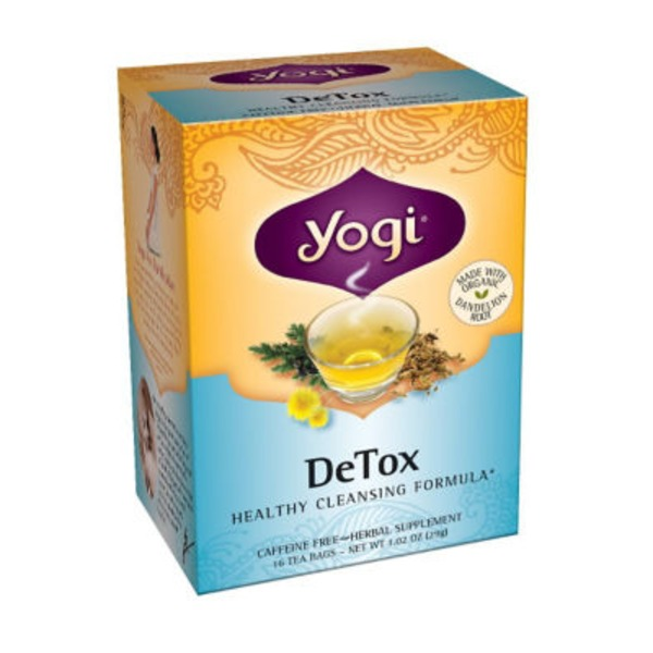 Yogi DeTox Caffeine Free Herbal Tea