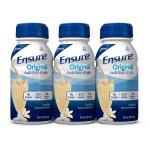Ensure Original Nutrition Shake Vanilla with 9 grams of protein, Meal Replacement Shakes, 8 fl oz Bottles (Pack of 6)