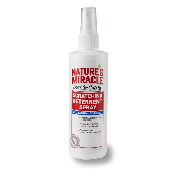 Nature's Miracle No Scratch Cat Deterrent Spray