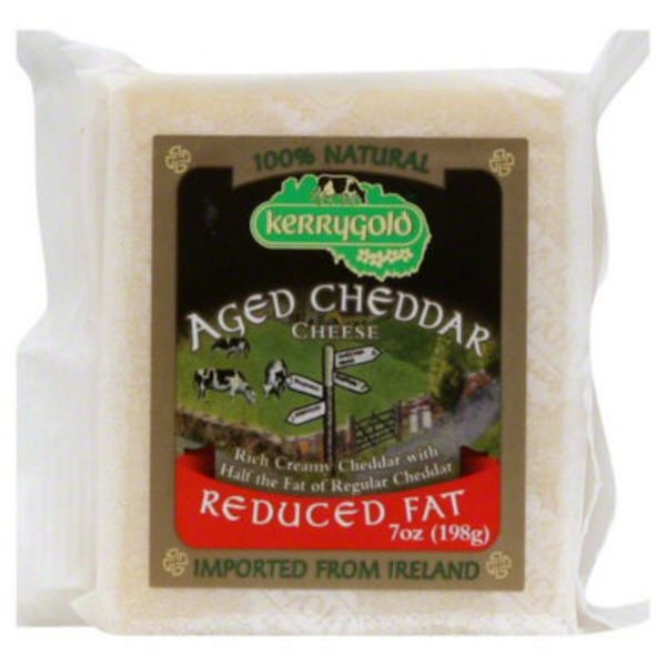 Kerrygold Cheese Aged Cheddar Reduced Fat