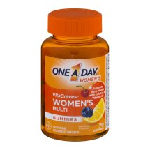 One A Day Women's VitaCraves Gummies Multivitamin Supplement, 70 Count