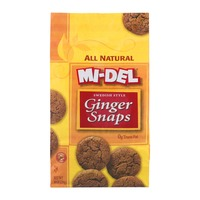 Mi-Del Swedish Style Ginger Snaps