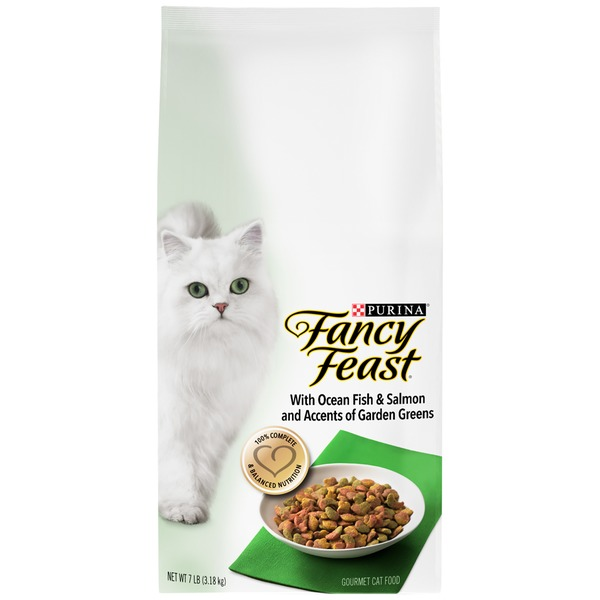 Fancy Feast Dry With Ocean Fish & Salmon Cat Food