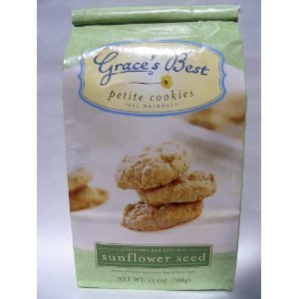 Grace's Best Foods Sunflower Seed Cookies