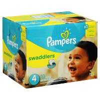 Pampers Swaddlers Diapers Size 4 Super Pack