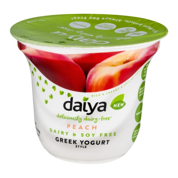 Daiya Dairy Free Greek Yogurt Peach