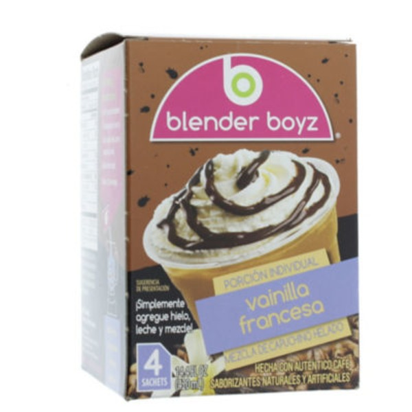 Blender Boyz Single Serve French Vanilla Iced Cappuccino Mix