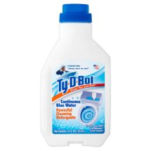 Ty-D-Bol Clean You Can See! Continuous Blue Water Powerful Cleaning Detergents, 12 fl oz