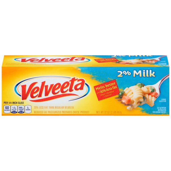 Kraft Velveeta with 2% Milk Cheese