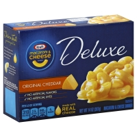 Kraft Macaroni & Cheese Dinner Deluxe Original Cheddar Cheese