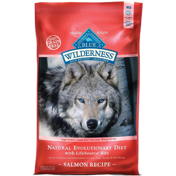 Blue Buffalo Wilderness Salmon Adult Dry Dog Food 11 Lbs.