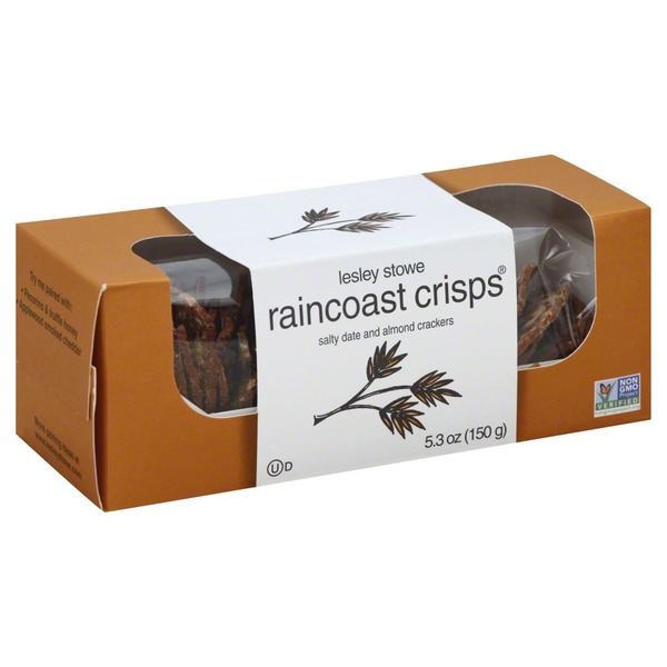 Lesley Stowe Raincoast Crisps Salty Date and Almond